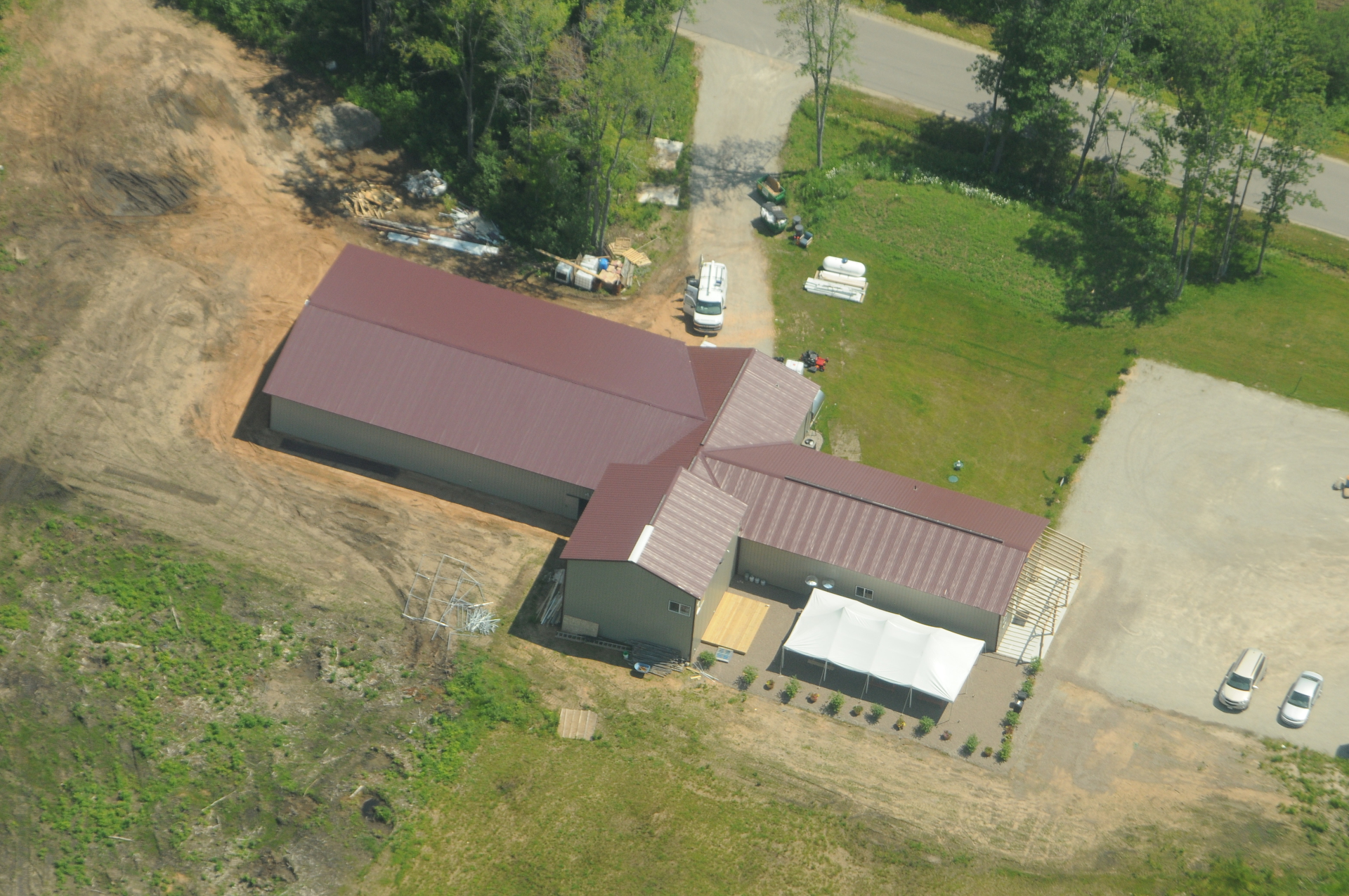 Aerial View Spring 2014